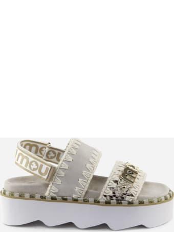 Mou Sandali Bio Sandal Backstrap Con Logo Metallico