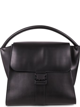 Zucca Black Buckled Bag L