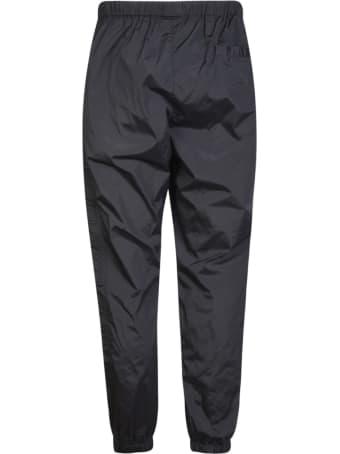 Marcelo Burlon Cross Nylon Bomber Pockets Jogger Pants