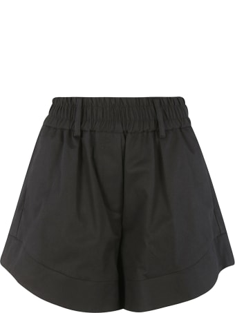 Tela Ribbed Flared Shorts