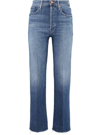 Mother The Rambler Ankle Fray 5-pocket Jeans
