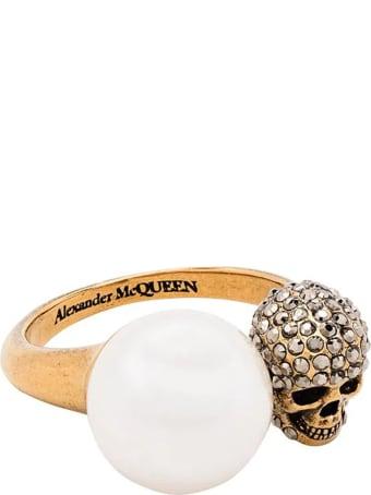 Alexander McQueen Pearl Ring
