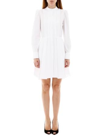 Alexander McQueen Mini Dress With Plastron