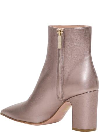 RED Valentino Metallic Boots