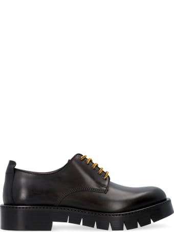 Salvatore Ferragamo Rudy Leather Lace-up Shoes