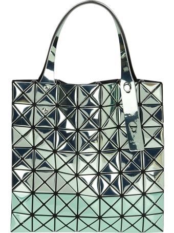 Bao Bao Issey Miyake Green Wring Tote Bags