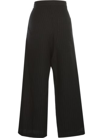 Y's O Straight Thick Pants Pinstripe