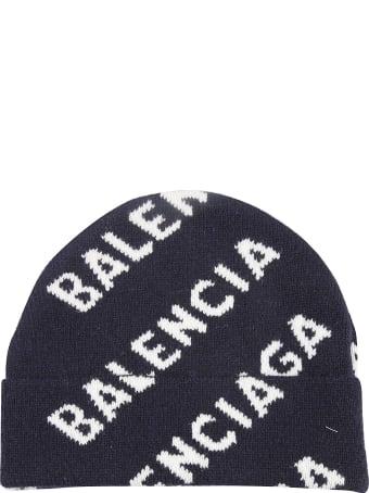 Balenciaga Knit Logo Beanie