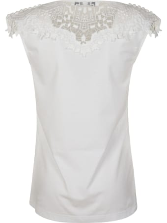 Ermanno Scervino Laced Detail Tank Top