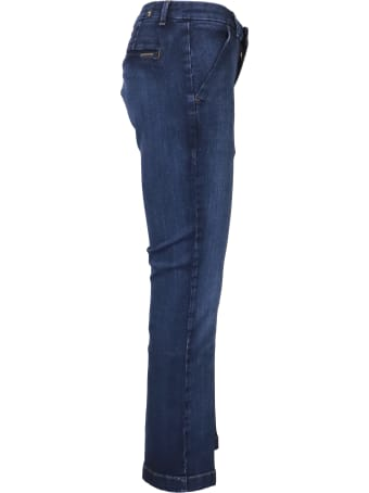 7 For All Mankind Chino Ankle Boot Jeans