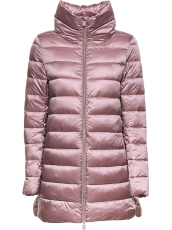 Save the Duck Save The Duck Irisy Pink Down Jacket