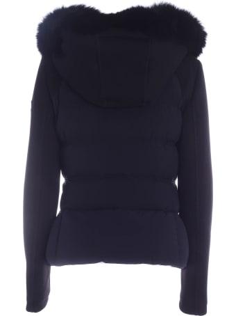 Peuterey Urban Down Jacket In Black Fabric