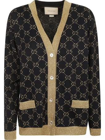 Gucci All-over Logo Cardigan