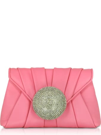 Gedebe Claire Small Nappa Clutch