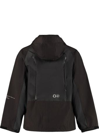 Moncler Warren Hooded Techno Fabric Raincoat