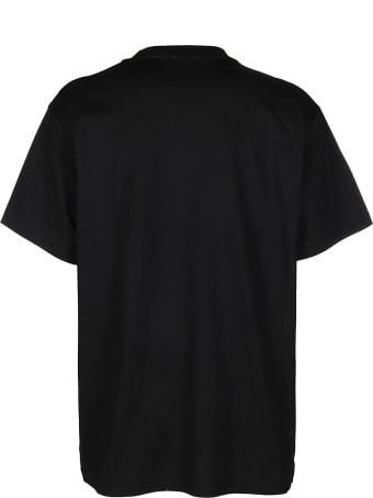 Burberry Black Cotton T-shirt