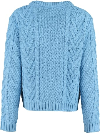 Weekend Max Mara Sagoma Cable Knit Sweater