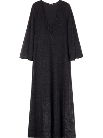 Oseree Lumière Lurex Kaftan Dress