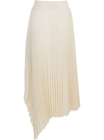 Joseph Swinton Pleated Rib Skirt