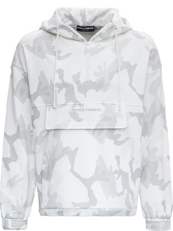 Dolce & Gabbana Camouflage Cotton Hoodie