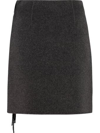 Parosh Wool Wrap Skirt