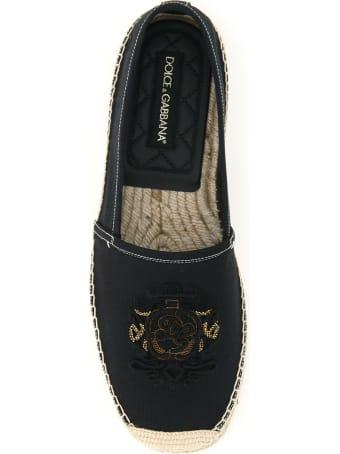 Dolce & Gabbana Boccaccio Espadrilles Dg Coat Of Arms