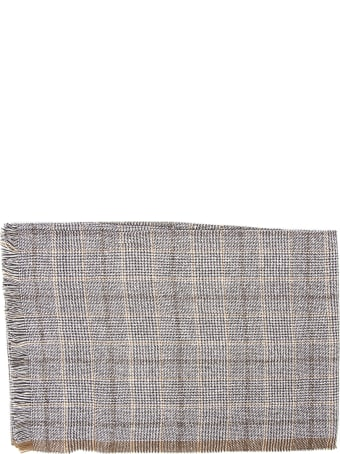 Eleventy Platinum Wool & Silk Walles Scarf