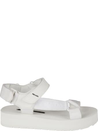 Prada Nastro Flat Sandals