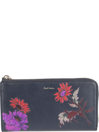 Paul Smith Floral Printed Wallet
