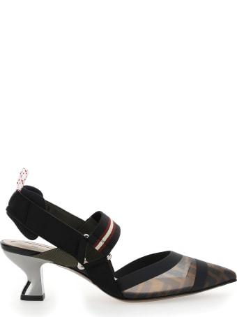 Fendi Slingback Sandals
