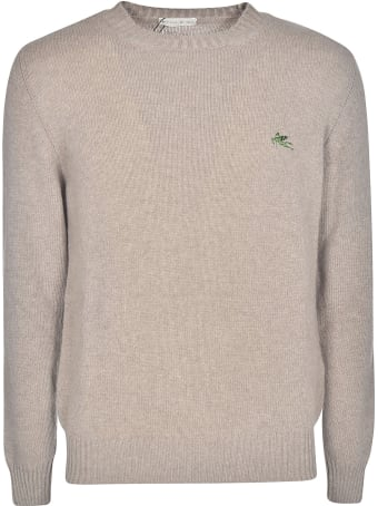 Etro Logo Embroidered Sweater