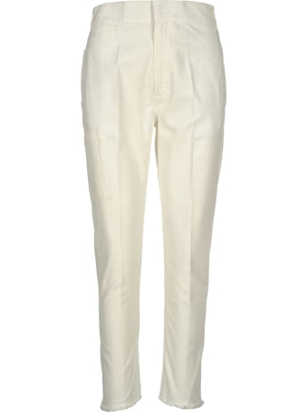Haider Ackermann Raw-hem Tapered Trousers
