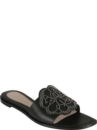 Alexander McQueen Studded Flat Sandals