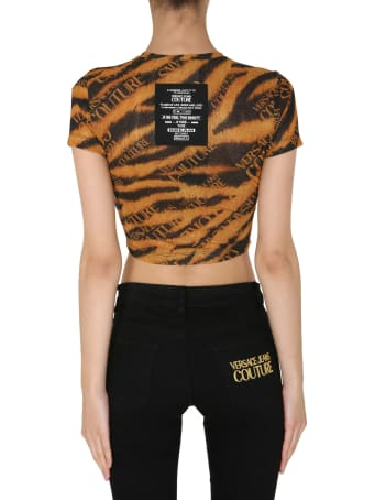 Versace Jeans Couture Cropped T-shirt