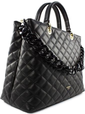 Avenue 67 Violante Bag In Black Leather