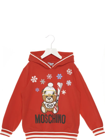 Moschino 'teddy Snow' Hoodie