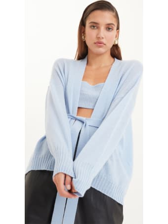 Antonella Rizza Cardigan Diamond Light Blue