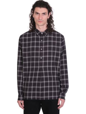 IRO Kooper Shirt In Black Cotton