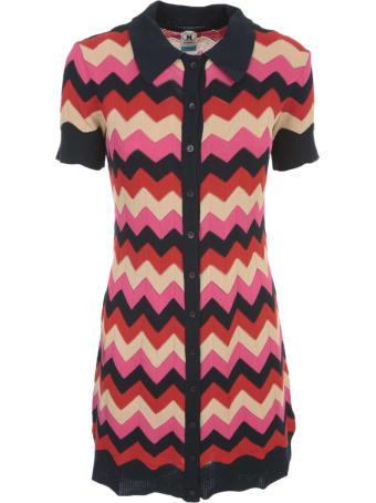 M Missoni Short Dress W/collar