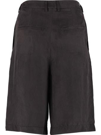 L'Autre Chose Wide Leg Bermuda Shorts