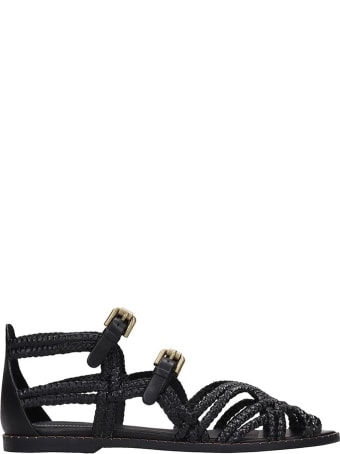 See by Chloé Flats In Black Leather