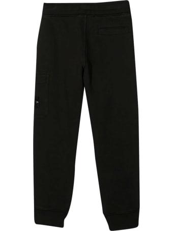 Stone Island Junior Black Trousers