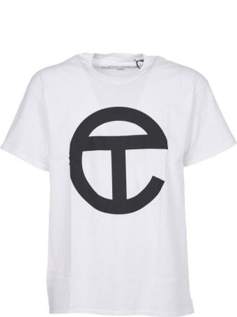 Telfar White T-shirt With Logo