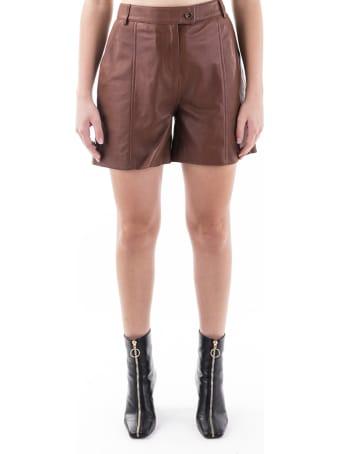 Trussardi Leather Shorts