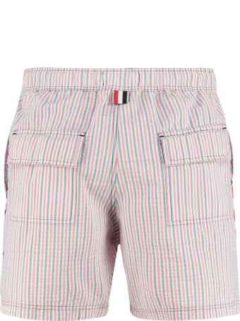 Thom Browne Striped Swim Shorts