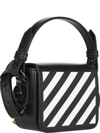 Off-White Off White Diag Baby Binder Clip Shoulder Bag