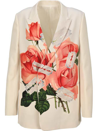 Undercover Jun Takahashi Undercover Rose Print Blazer