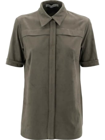 D.Exterior Velvet Shirt