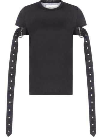 Marques'Almeida Belt-sleeves Cotton T-shirt
