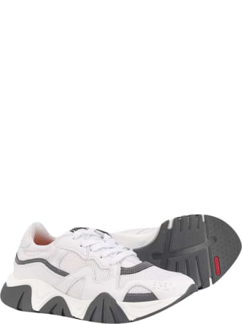 Young Versace White Sneakers Teen